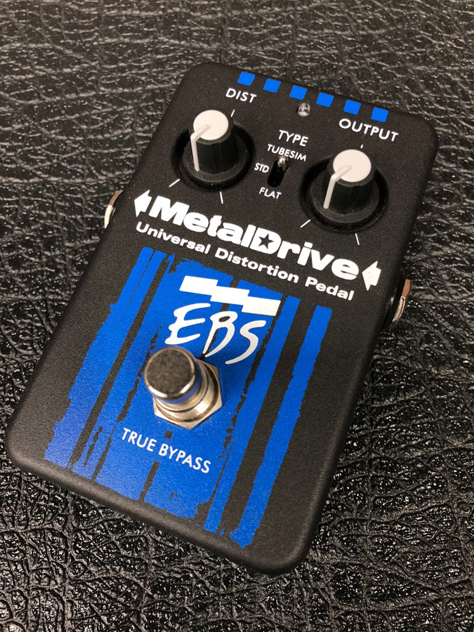 EBS / Metal Drive ディストーション 【展示品特価】【新宿店】