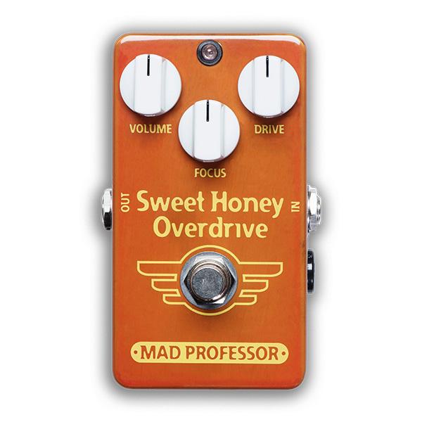 MAD Professor / Sweet Honey Overdrive Hand Wired 【エフェクター】【マッドプロフェッサー】【スイートハニーオーバードライブ/スィートハニーオーバードライブ】【ハンドワイアード】【新宿店】