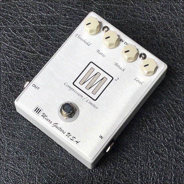 Miura Guitars U.S.A. / M2 Compressor/Limitter 【ベース用コンプレッサー】【新宿店】