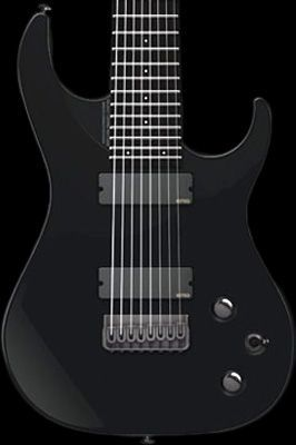 Washburn / Parallaxe PXM Series PXM18EB Black Gloss 8-Strings 【7弦ギター/7Strings】【エレキギター】【パララクスシリーズ】【PXM18EB】【ブラックグロス】【新宿店】