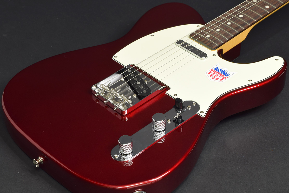 Fender / Japan Exclusive Classic 60s Telecaster US Pickups Old Candy Apple Red 【フェンダージャパン】【テレキャスター】【新宿店】