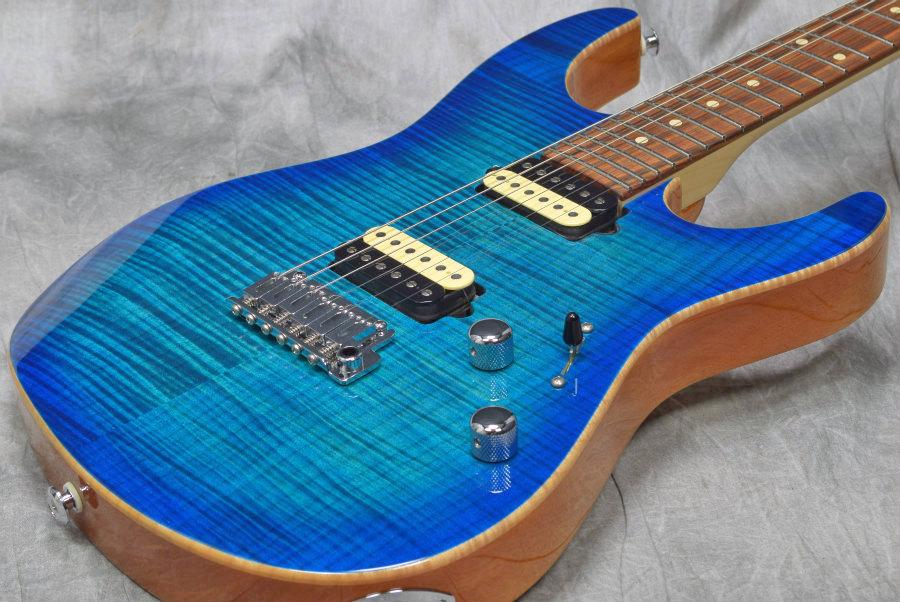 Suhr / Pro Sreies Modern Pro Mahogany Back 510 HH Aqua Blue Burst 【S/N:28185】【新宿店】