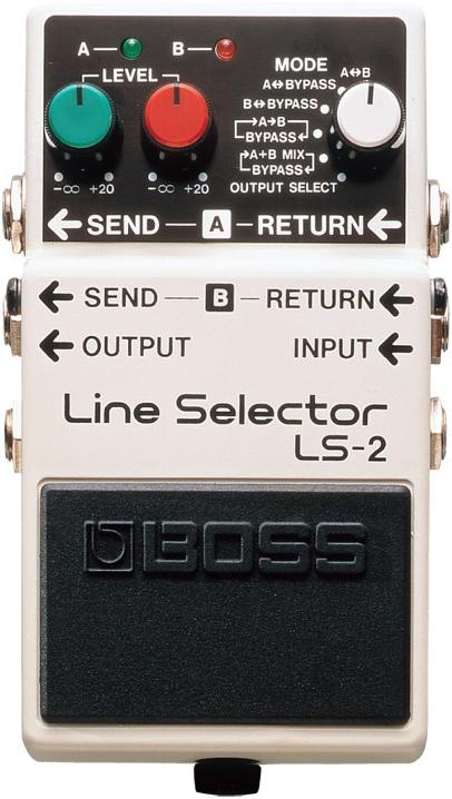 BOSS / LS-2 Line Selector 【エフェクター】【ボス】【ラインセレクター】【新宿店】