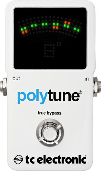 t.c.electronic / Poly Chromatic Tuner polytune 2 【tcエレクトロニック】【クロマチックチューナー】【ポリチューン2】【新宿店】