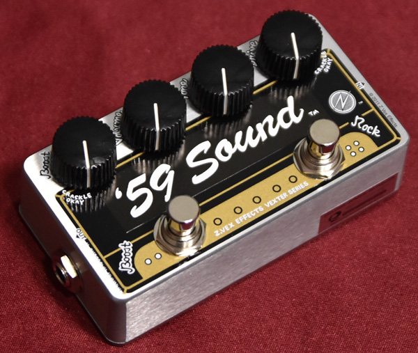 Z-VEX / 59 Sound Vexter Series Limited ジーベックス ディストーション 【限定モデル】【心斎橋店】