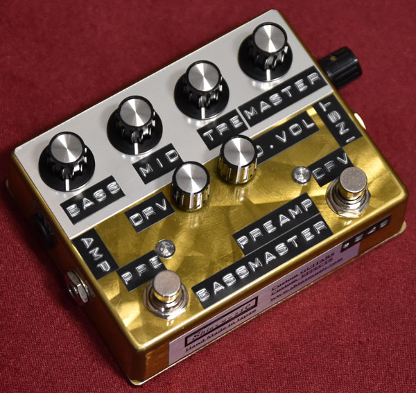Shin's Music / BMP-1 Bass Master Preamp Gold Scratch #246 【心斎橋店】
