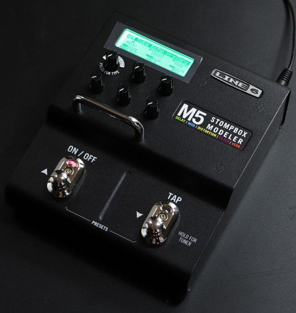 Line6 / M5 Stompbox Modeler 【パッチケーブルプレゼント!!】【心斎橋店】