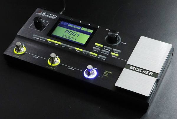 Mooer / GE200 Amp Modelling & Multi Effects 【心斎橋店】