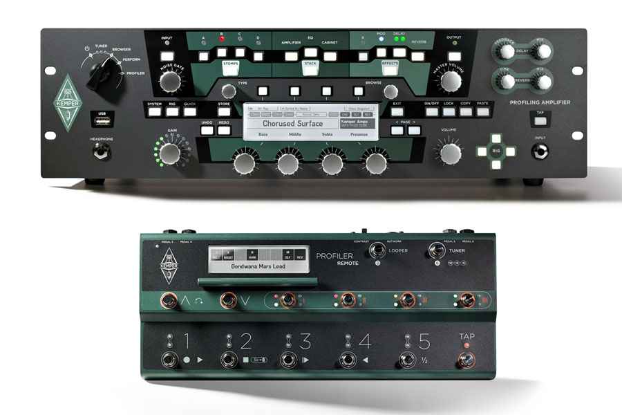 Kemper / Profiler Power Rack + Profiler Remote 【横浜店】