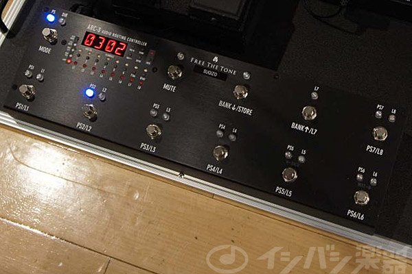Free The Tone / ARC-3 Audio Routing Controller Black 【心斎橋店】