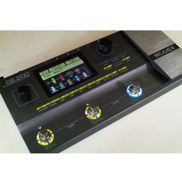 Mooer / GE200 Amp Modelling & Multi Effects 【今なら即納可能です!!】【心斎橋店】