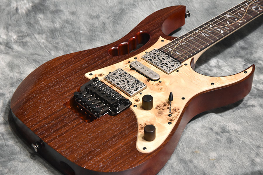 Ibanez アイバニーズ / Steve Vai Signature JEM77WDP Charcoal Brown Low Gloss 《s/n:I170821371》 【心斎橋店】