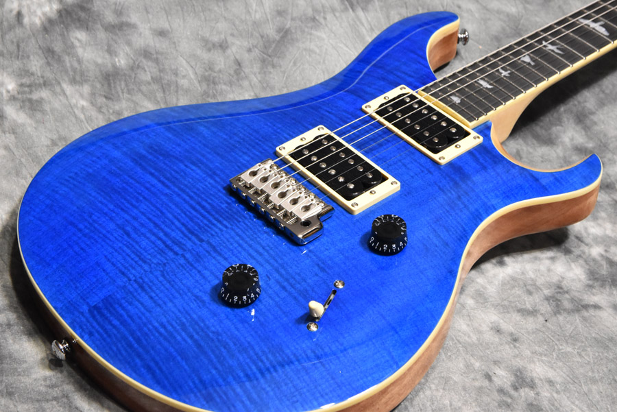 Paul Reed Smith (PRS) / Japan Limited SE CUSTOM24 Beveled Maple Top Blue Matteo/Natural Back 【S/N:S03351】【心斎橋店】