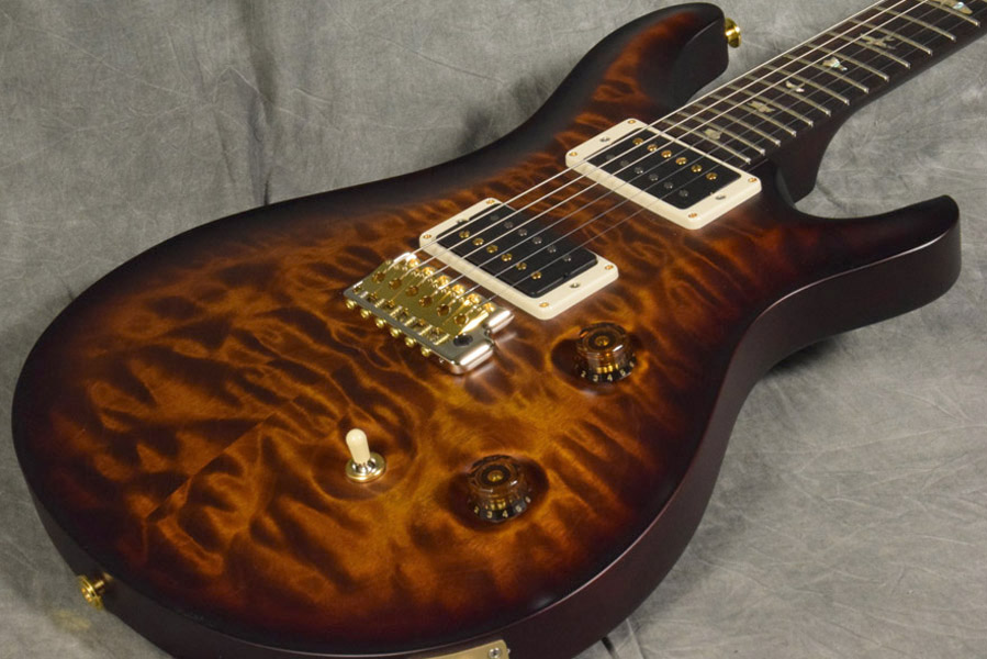 Paul Reed Smith (PRS) / KID Limited Custom24 10-Top Quilt Satin Black Gold Wrap Around / Pattern-Thin 【梅田店】