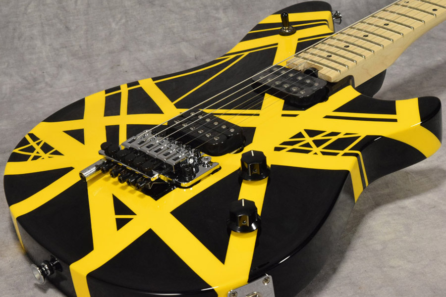 EVH / Wolfgang Special Black with Yellow Stripes 【梅田店】