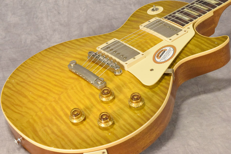 Gibson Custom / True Historic 1959 Les Paul Reissue Tom Murphy Aged Vintage Lemon Burst【梅田店】