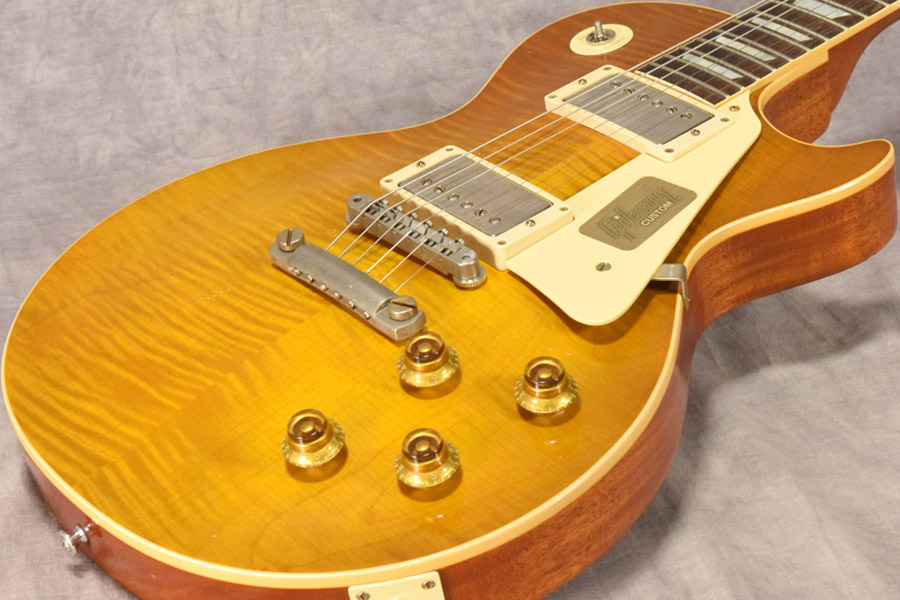 Gibson Custom / 2017 Limited Run 1958 Les Paul Hard Rock Maple Heavy Aged Dirty Lemon 【梅田店】