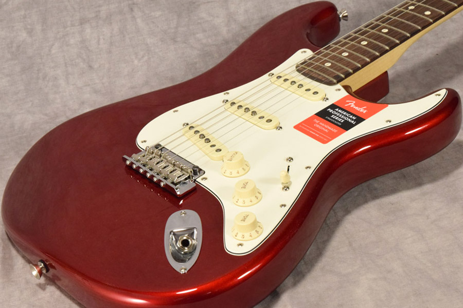 Fender / American Professional Stratocaster Rosewood Fingerboard Candy Apple Red 【梅田店】