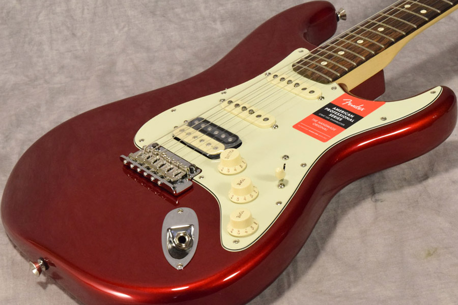 Fender / American Professional Stratocaster HSS ShawBucker Rosewood Fingerboard Candy Apple Red 【梅田店】