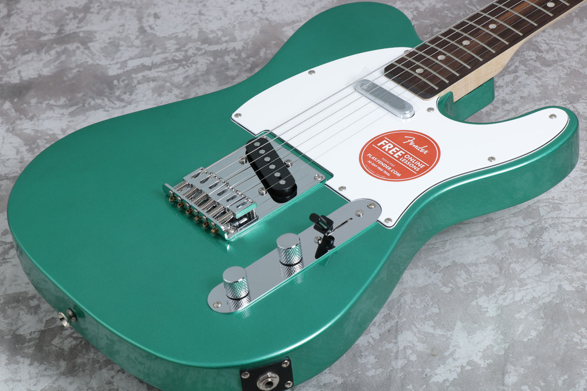Squier by Fender スクワイア / Affinity Series Telecaster Race Green Rosewood【梅田店】