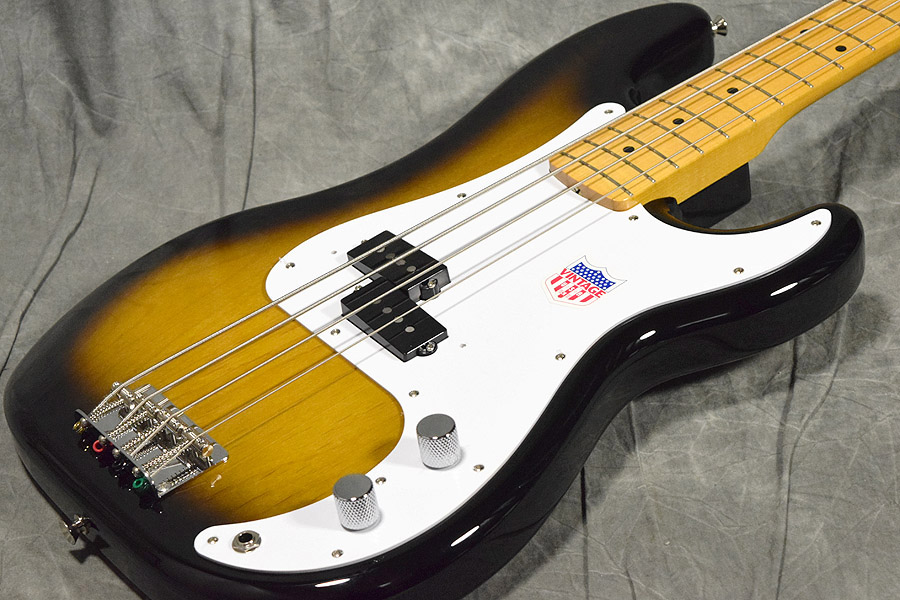 Fender / Japan Exclusive Classic 50s P Bass USA Pickups 2-Color Sunburst 【梅田店】