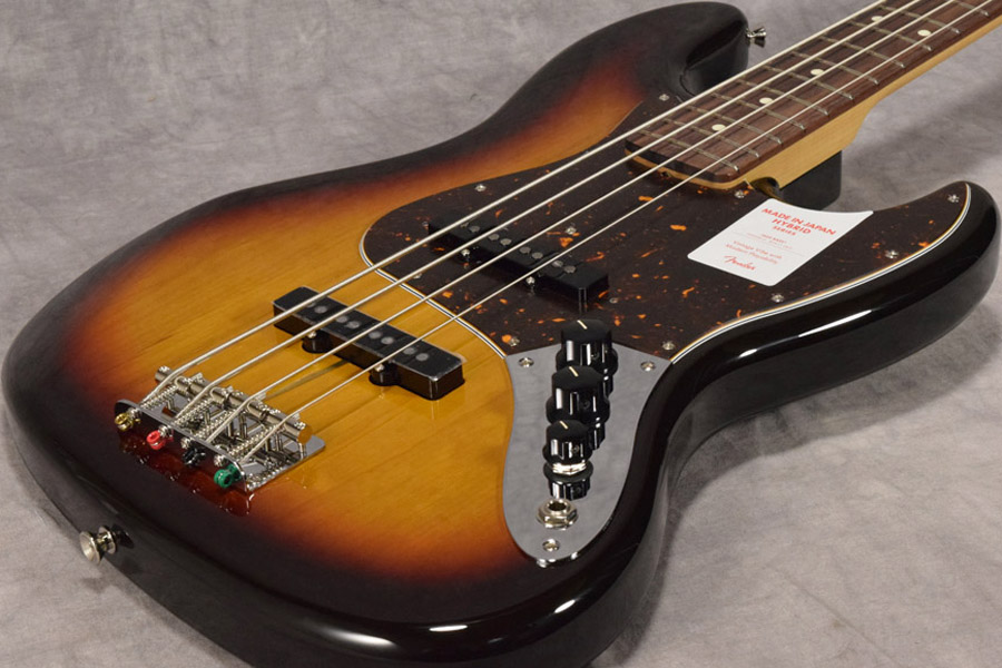 Fender / Made in Japan Hybrid 60s Jazz Bass 3-Color Sunburst【梅田店】