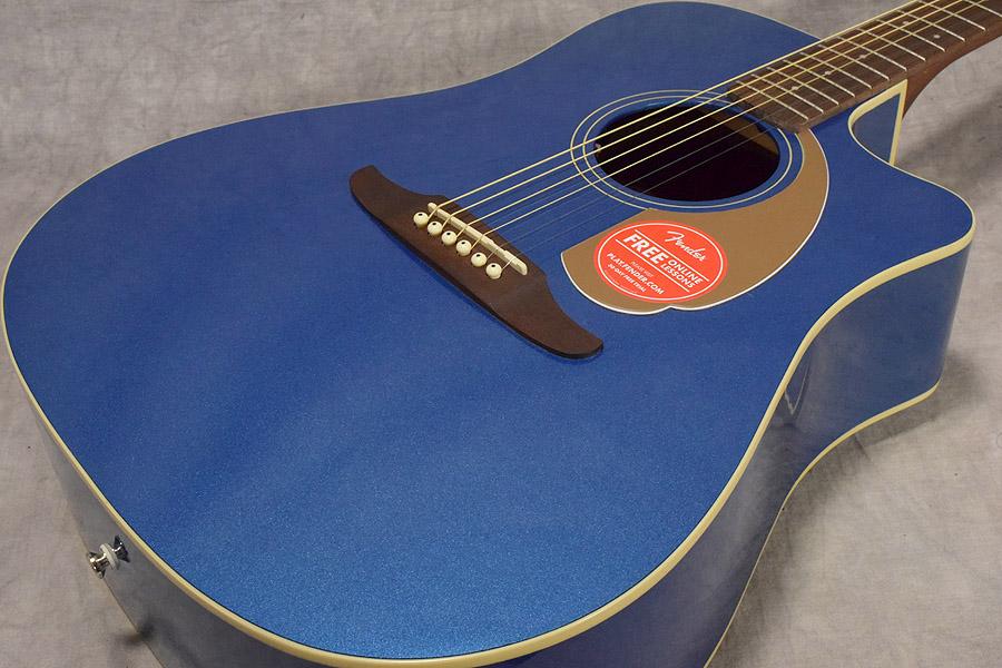 FENDER / REDONDO PLAYER BELMONT BLUE (BLB) 【CALIFORNIA SERIES】フェンダー アコースティックギター 【梅田店】