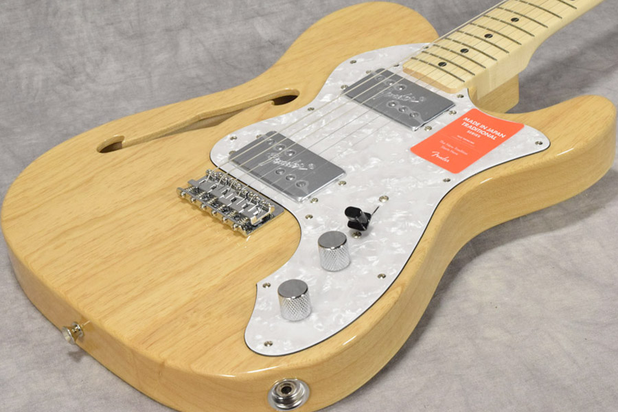 Fender / Made in Japan Traditional '70 Telecaster Thinline Natural/Maple Fingerboard 【梅田店】