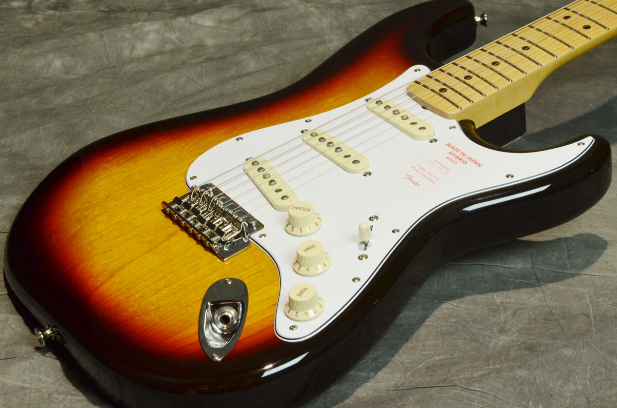 Fender / Made in Japan Hybrid 68 Stratocaster 3 Color Sunburst 【梅田店】