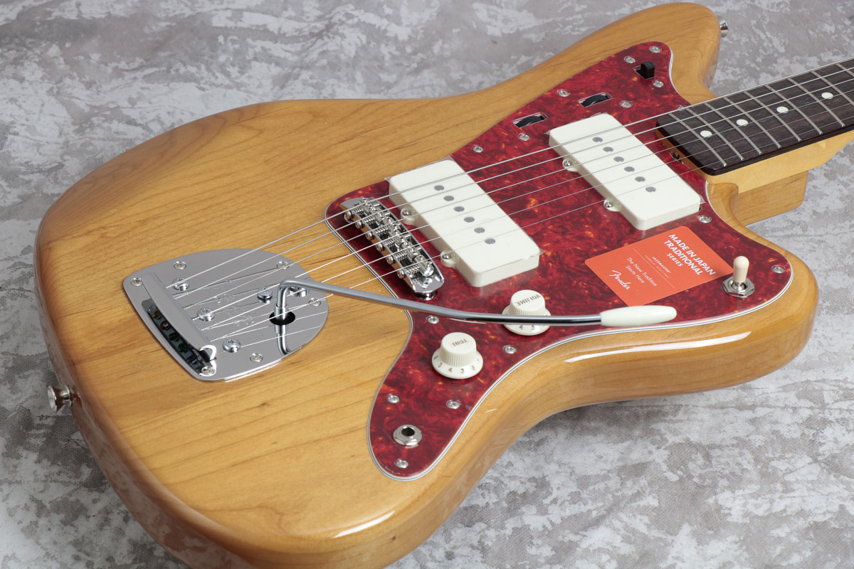 Fender / Made in Japan Traditional Factory Special Run(FSR) 60s Jazzmaster Vintage Natural/Rosewood Fingerboard 【梅田店】