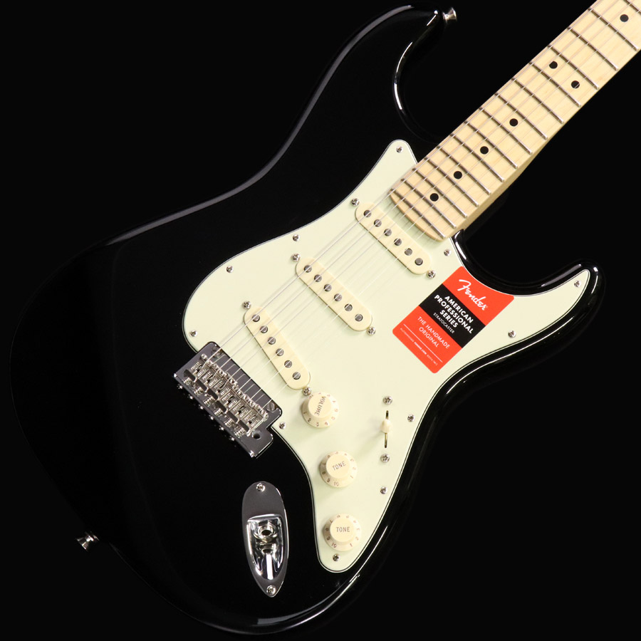 Fender USA / American Pro Stratocaster Black Maple Finger Board【梅田店】