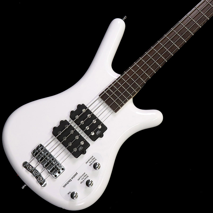 Warwick / Rockbass Series Corvette $$ 4st White High Polish 【梅田店】