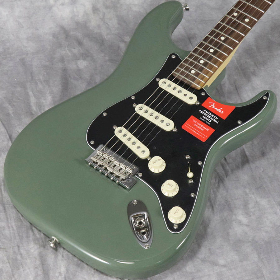 Fender USA / American Pro Stratocaster Antique Olive Rosewood 【梅田店】