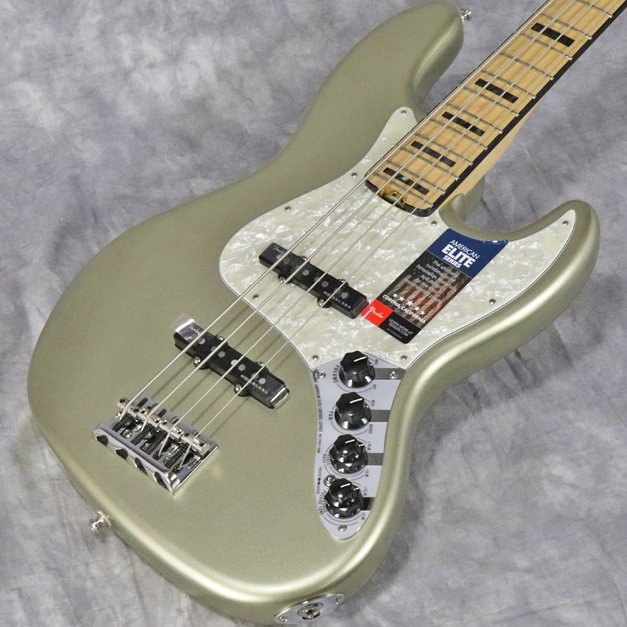 Fender USA / American Elite Jazz Bass Maple Fingerboard Champagne 【梅田店】