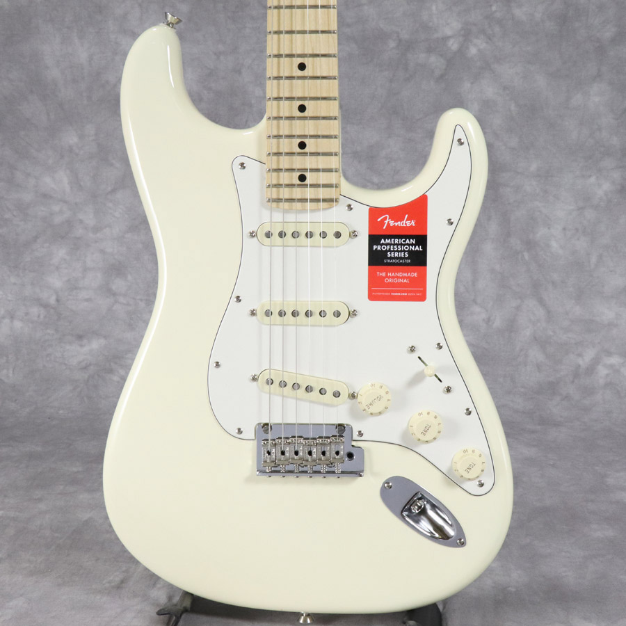 Fender USA / American Pro Stratocaster Olympic White Maple【梅田店】