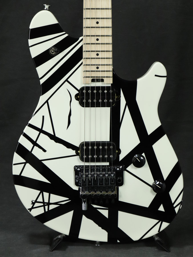 EVH/ Wolfgang Stripes Special Black Maple Fingerboard Black and and White Stripes【梅田店】, ゴルフスタジオ スクエア:4986445d --- officewill.xsrv.jp