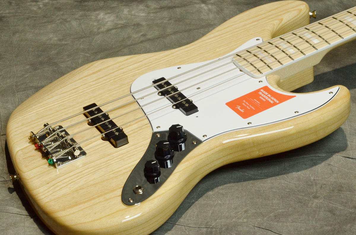 Fender / Traditional 70s Jazz Bass Ash Natural Maple Made in Japan【横浜店】