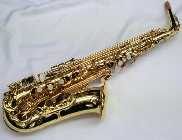 Antigua / Alto Saxophone AS GL 【お手入れセットプレゼント!】【横浜店】