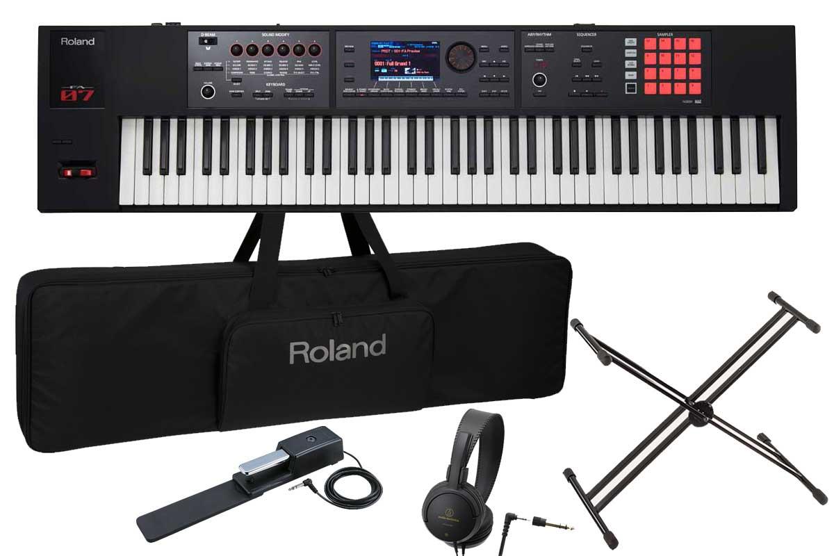 非常に高い品質 Roland ローランド/ FA-07 Music Workstation/【スタートセット ローランド! 76鍵盤】【オーバーレイシート付属】 76鍵盤 シンセサイザー【横浜店】, MENZ-STYLE メンズスタイル:808cc7a0 --- claudiocuoco.com.br