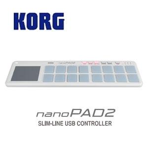 KORG / nano PAD2 SLIM-LINE USB パッド ホワイト【横浜店】