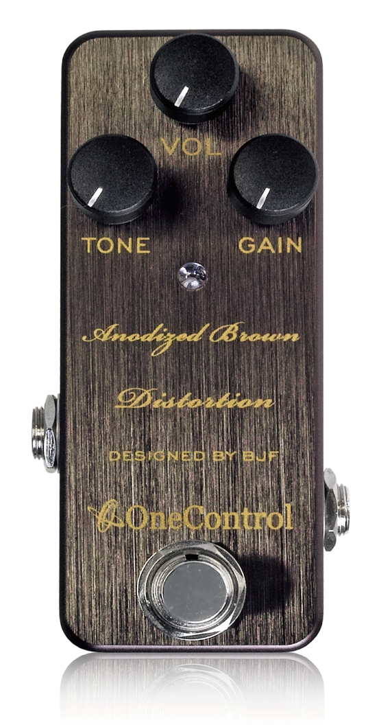 One Control ワンコントロール ANODIZED BROWN DISTORTION【横浜店】