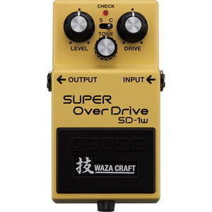 BOSS ボスSD-1W SUPER OverDrive 技 Waza Craft【横浜店】