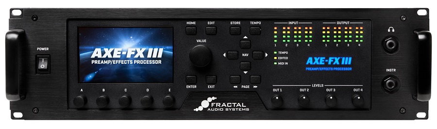 FRACTAL AUDIO SYSTEMS / Axe-Fx III ≪1台のみ即納可能!!≫【フラクタルオーディオシステム】【アックスエフエックス】【マルチエフェクター】【横浜店】