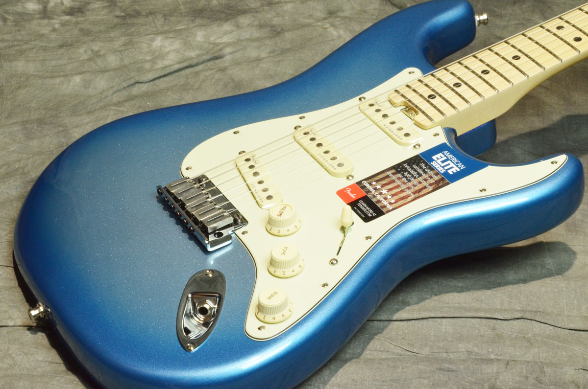 Fender USA フェンダー / American Elite Stratocaster Maple Fingerboard Sky Burst Metallic【横浜店】