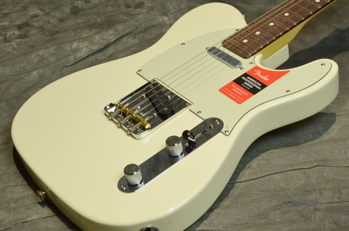 Fender USA / American Pro Telecaster Olympic White Rosewood【横浜店】