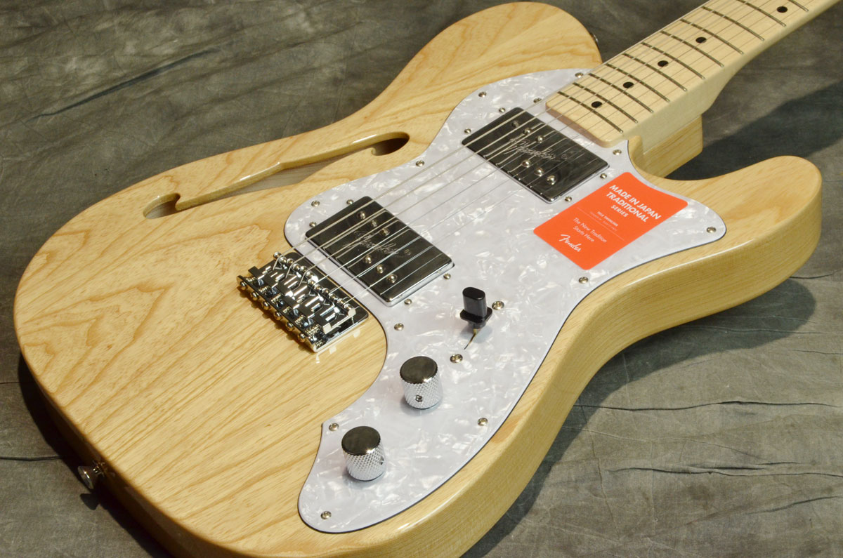 Fender / Made in Japan Traditional '70 Telecaster Thinline Natural/Maple Fingerboard 【横浜店】