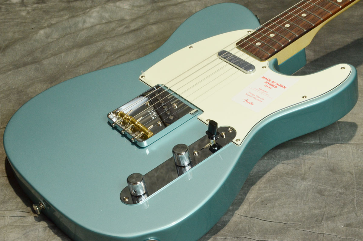 Fender / Made in Japan Hybrid 60s Telecaster Ocean Turquoise Metallic 【展示アウトレット特価品】【横浜店】