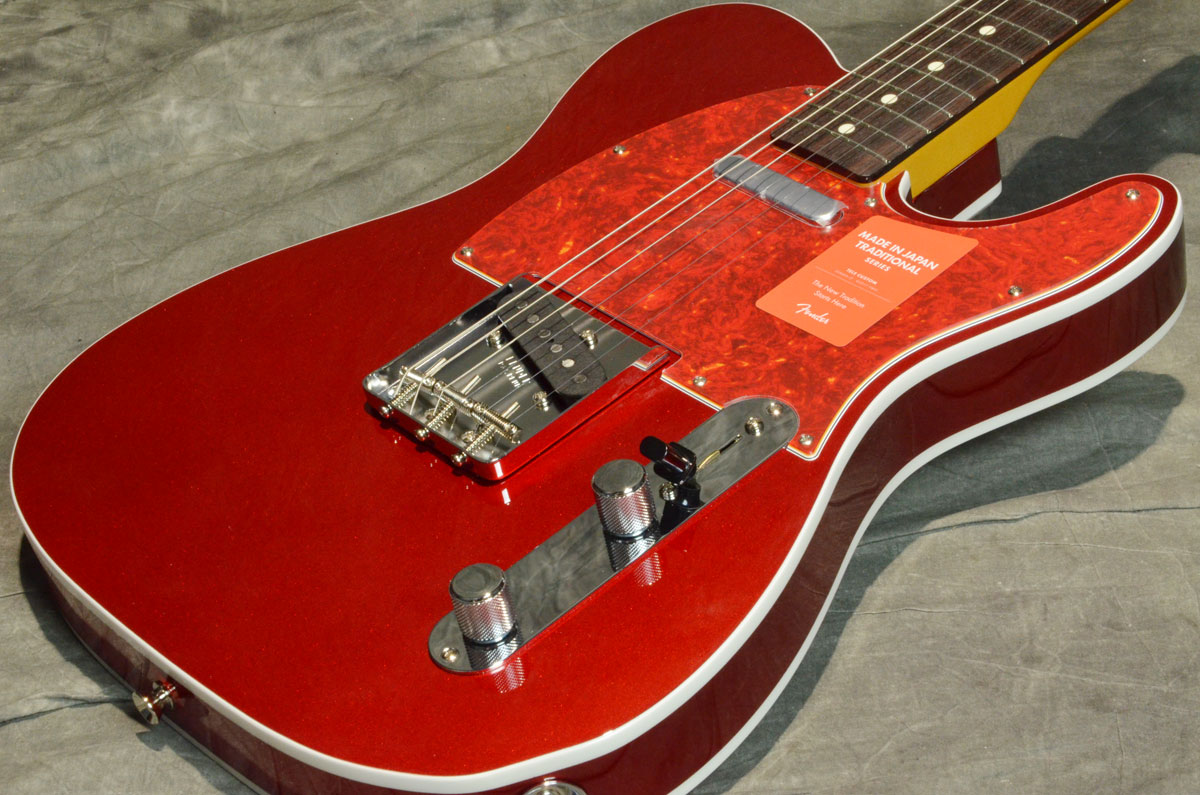 Fender / Made in Japan Traditional Factory Special Run 60s Telecaster Custom Candy Apple Red【横浜店】