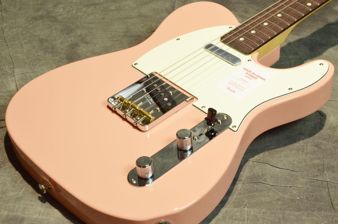 Fender / Made in Japan Hybrid 60s Telecaster Flamingo Pink【横浜店】