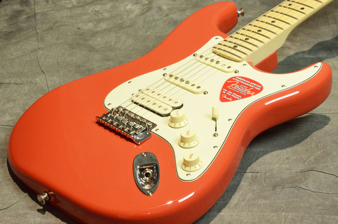 Fender USA / American Special Stratocaster HSS Fiesta Red Maple 【横浜店】